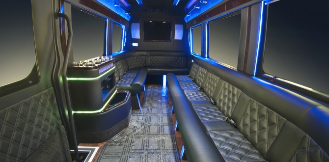 12 Person Mercedes Limo Bus
